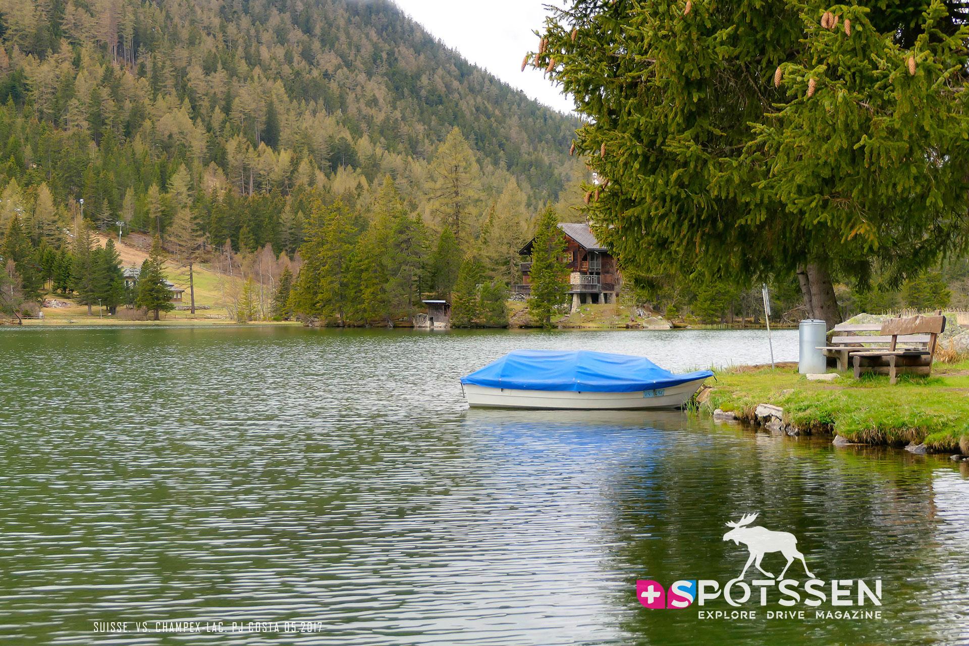 2017, champex-lac, valais, suisse, lacs, montagne