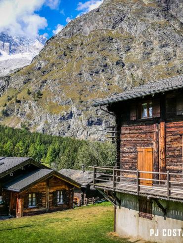 prayon, la fouly, ferret, valais, suisse