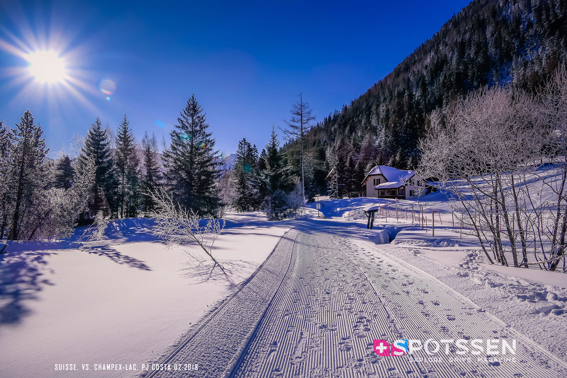 2018, champex-lac, valais, suisse