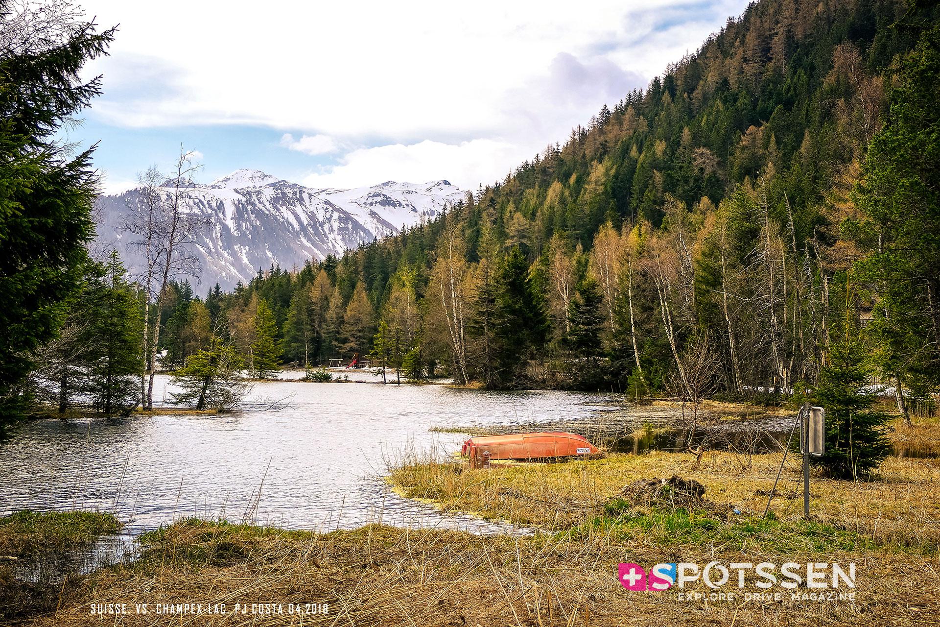 champex-lac, valais, suisse