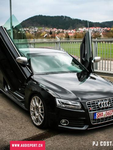 ascs, audi, audi sport club suisse, neckarsulm, kw suspensions, bugatti, cité automobile, 2008