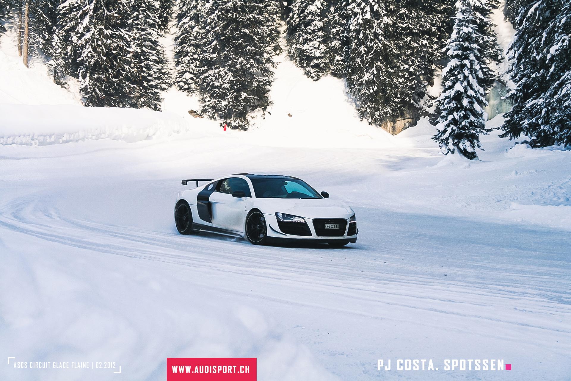 2012, ascs, audi, circuit, glace, flaine, audisport.ch, audi sport club suisse