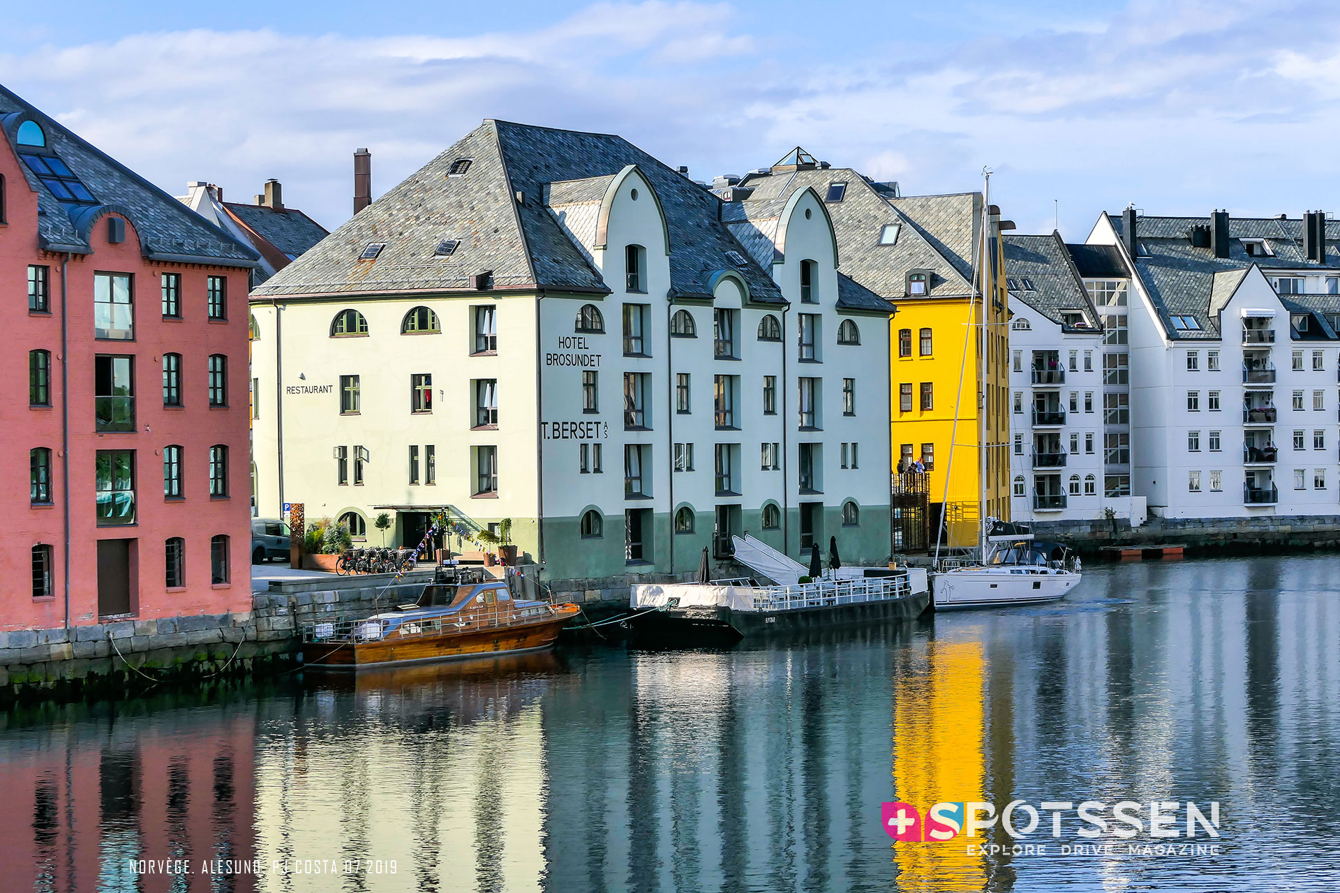 2019, alesund, norvège, scandinavie