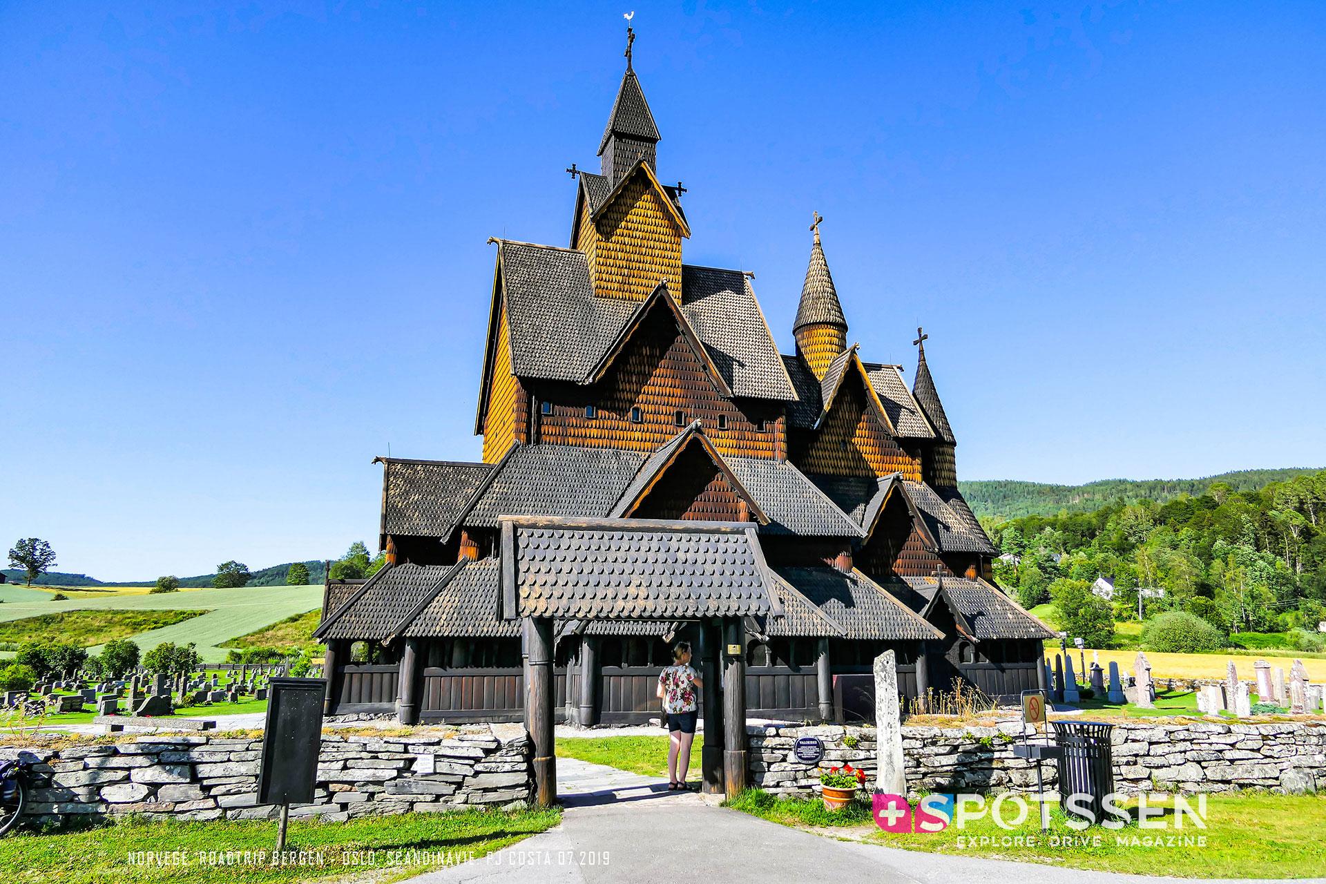 2019, norvège, Stavkirke, heddal