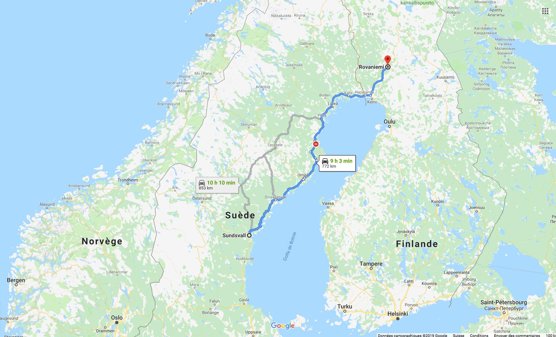 2019, scandinavie, sundsvall, rovaniemi