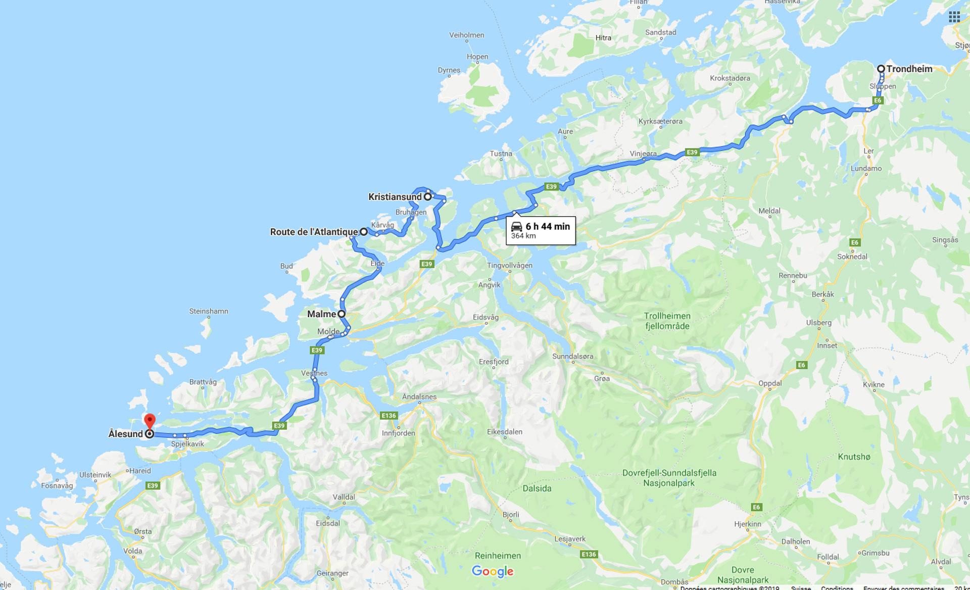 2019, trondheim, alesund, scandinavie, norvège