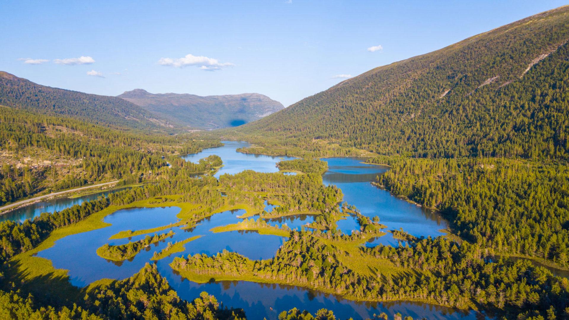 2019, otta, river, norvege