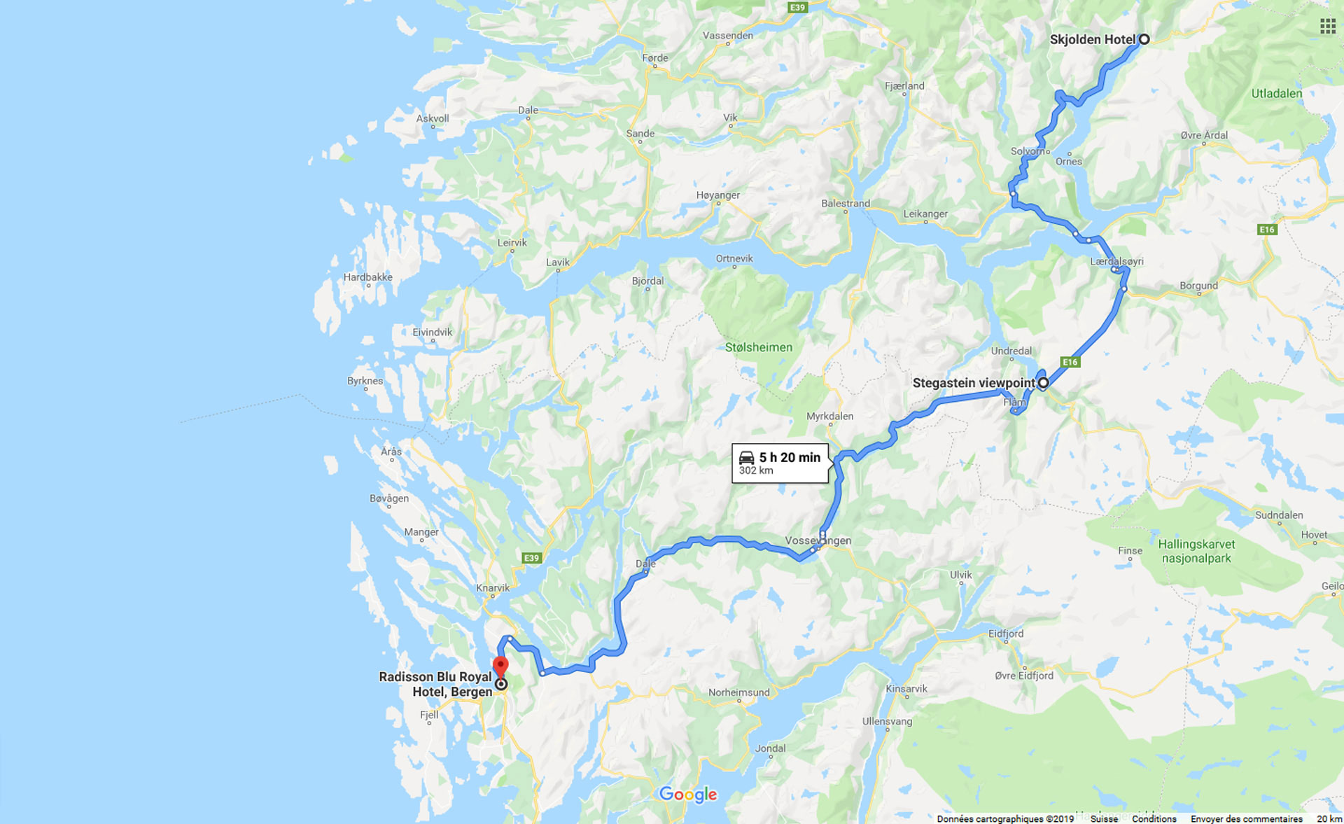2019, skjolden, bergen, norvege