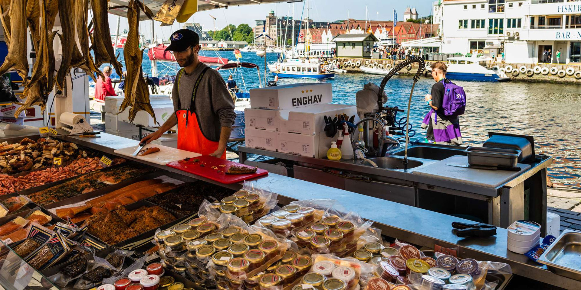 2019, bergen, fish market