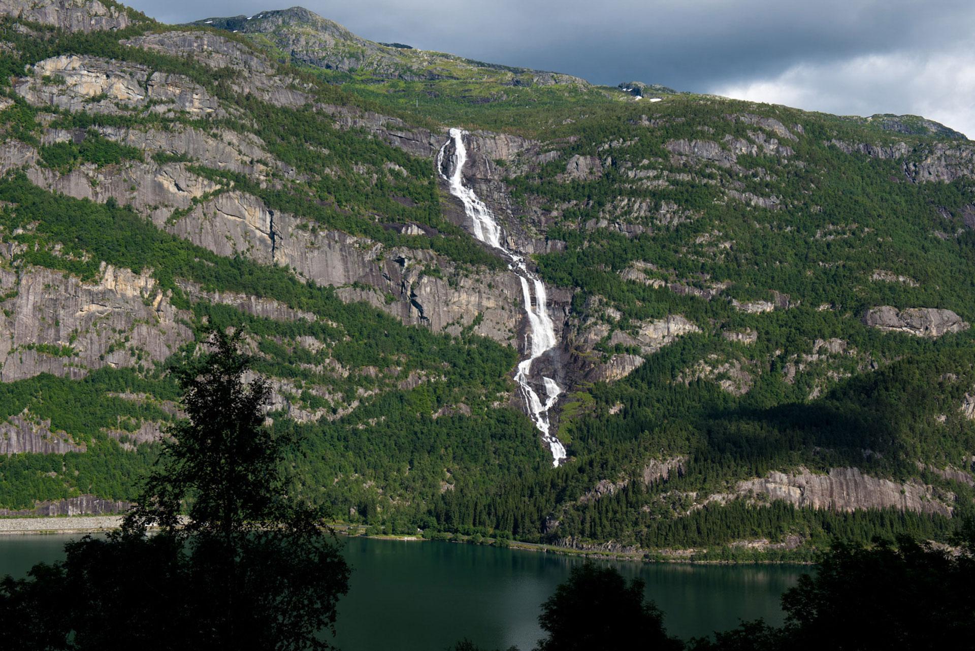 2019, tjornadalsfossen, norvege