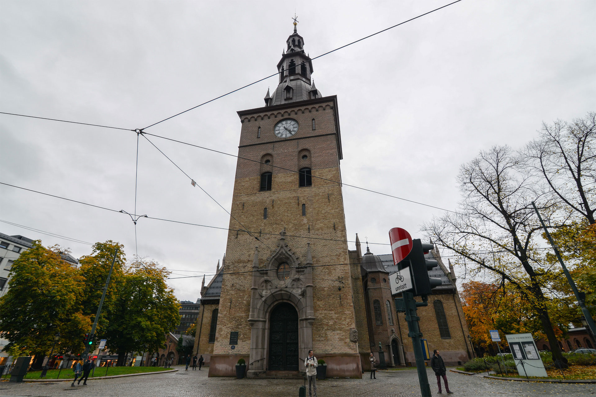 2019, oslo, cathedral, norvege