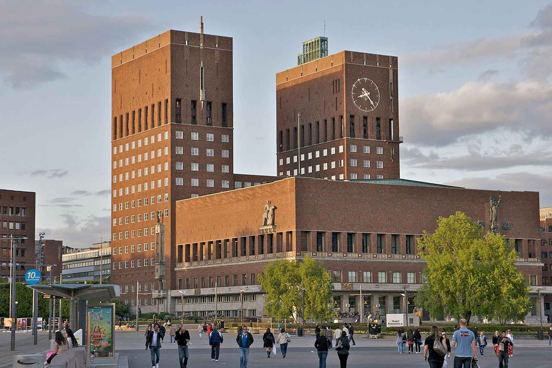 2019, oslo, city hall, norvege
