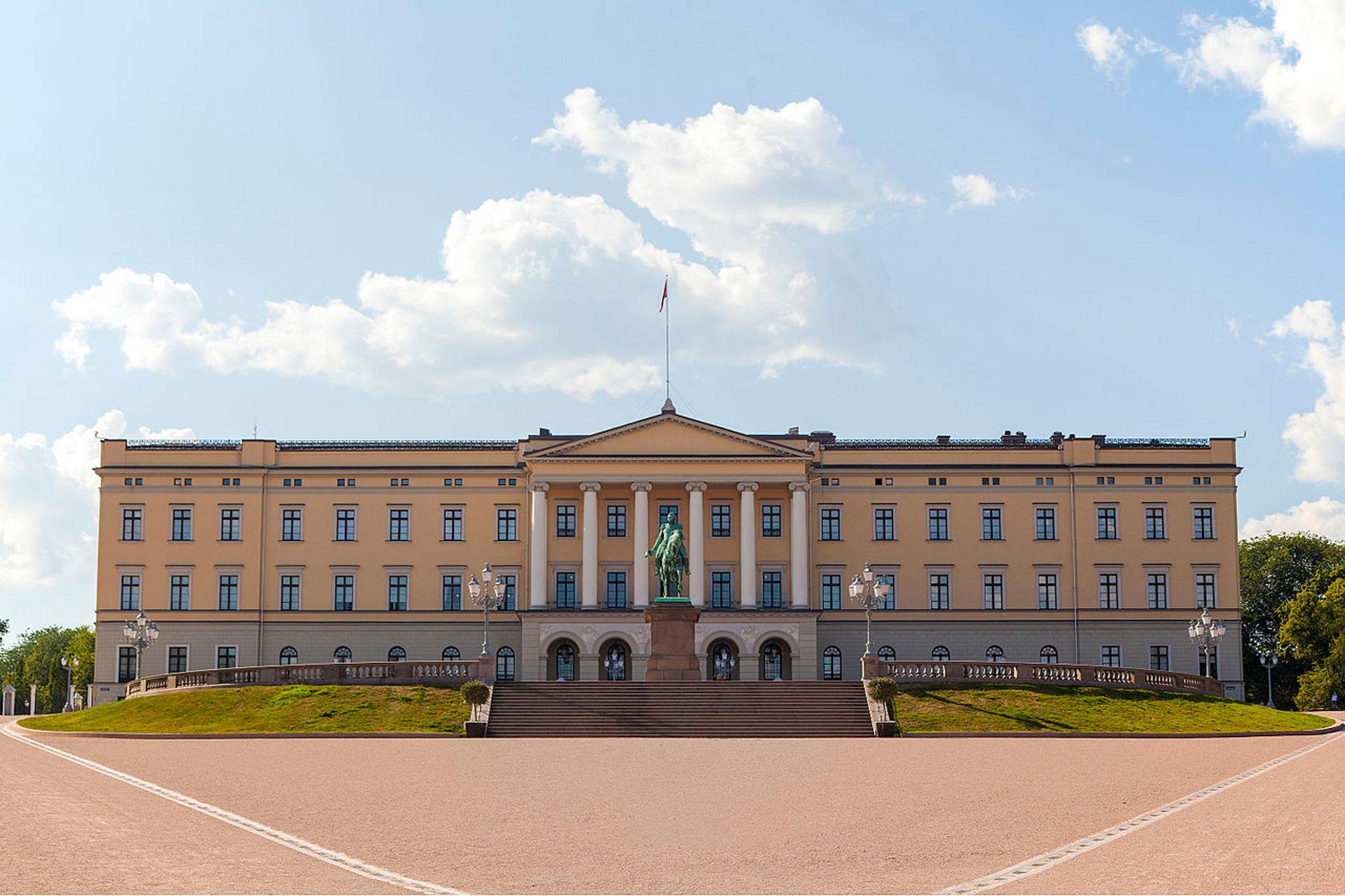 2019, oslo, royal, palais, norvege