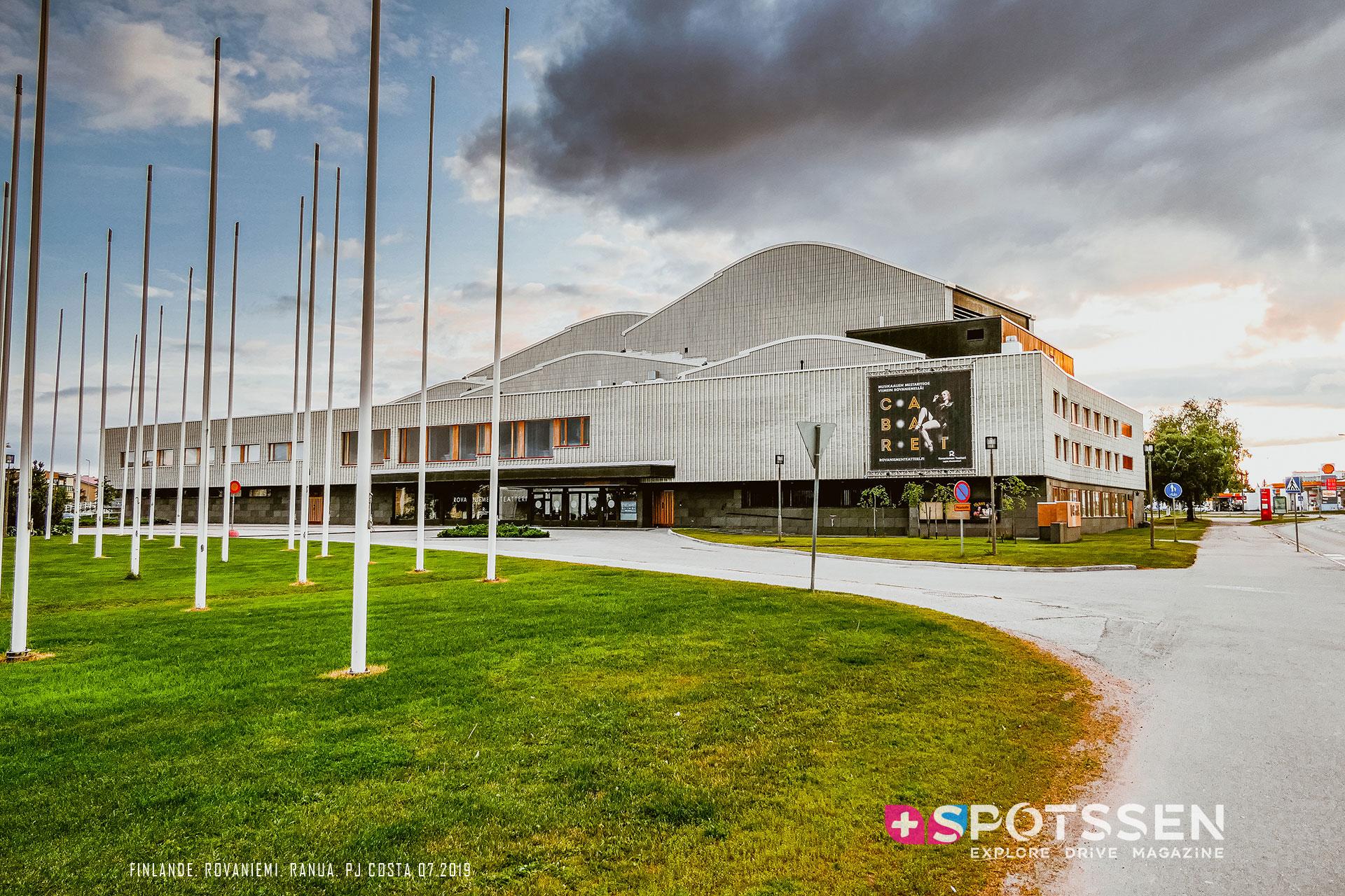 2019, rovaniemi, city hall, finlande