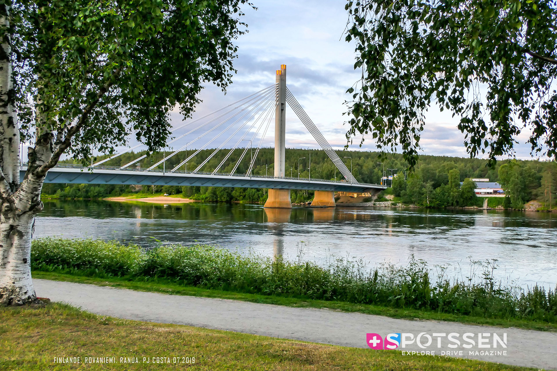 2019, rovaniemi, finlande, Jätkänkynttiläsilta
