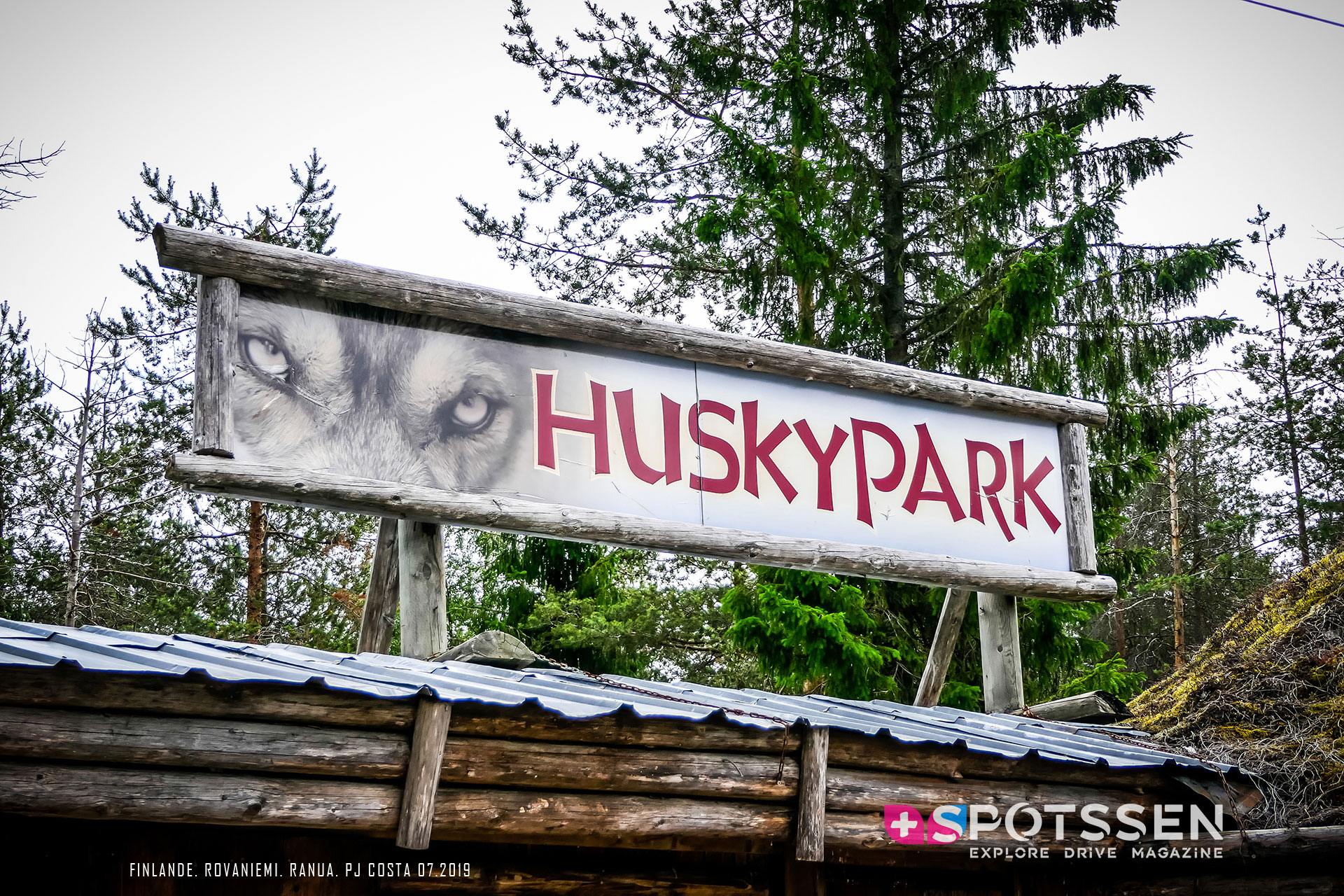 2019, rovaniemi, finlande, husky park