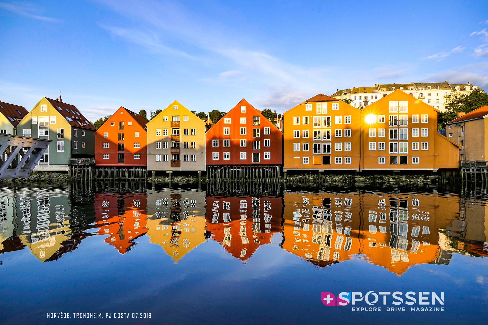 2019, trondheim, norvège, scandinavie