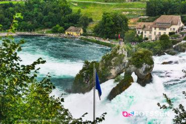 chutes, rhin, schaffhouse, suisse, 2019