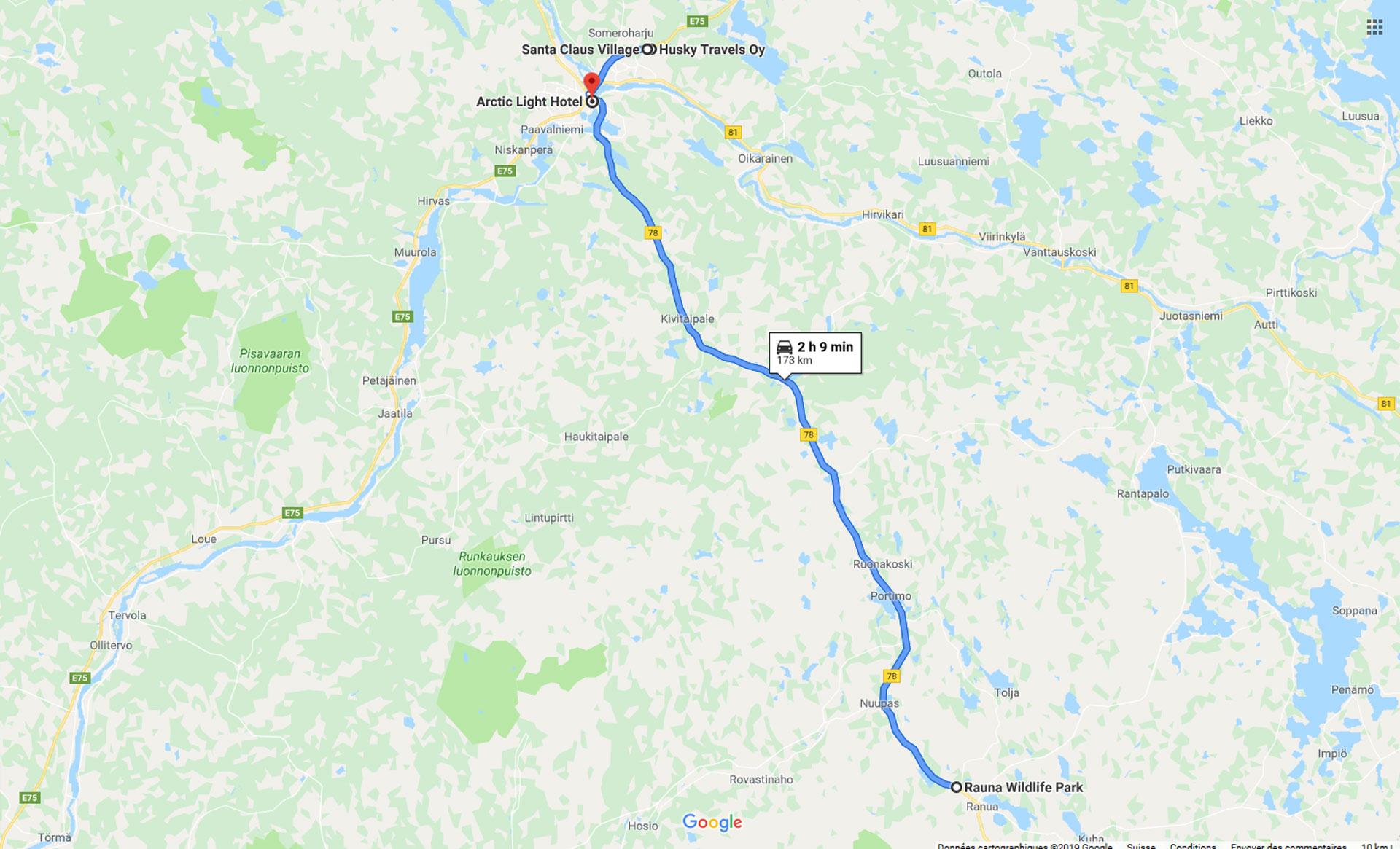 2019, rovaniemi, finlande, ranua