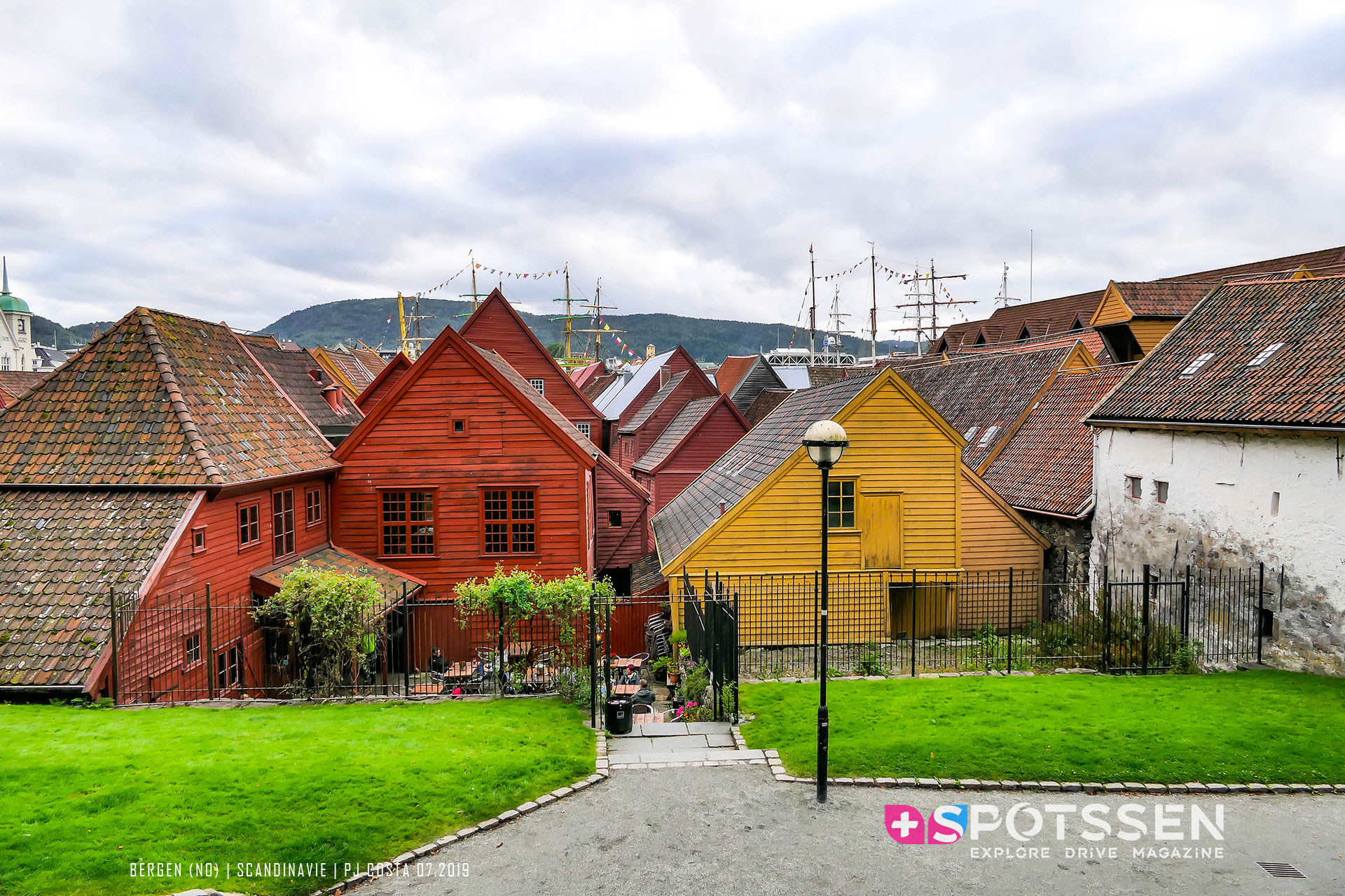 2019, bergen, norvège, scandinavie