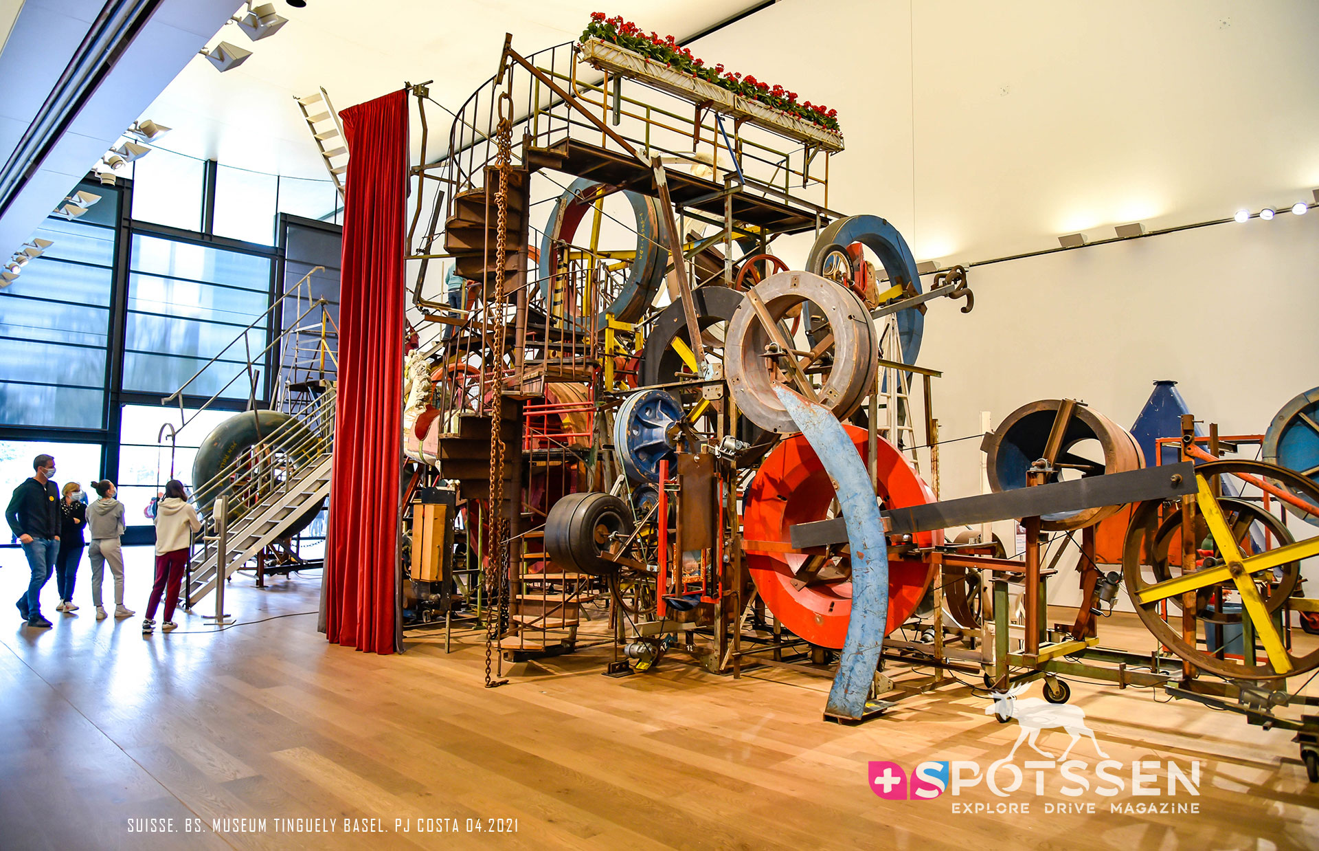2021, museum, tinguely, basel