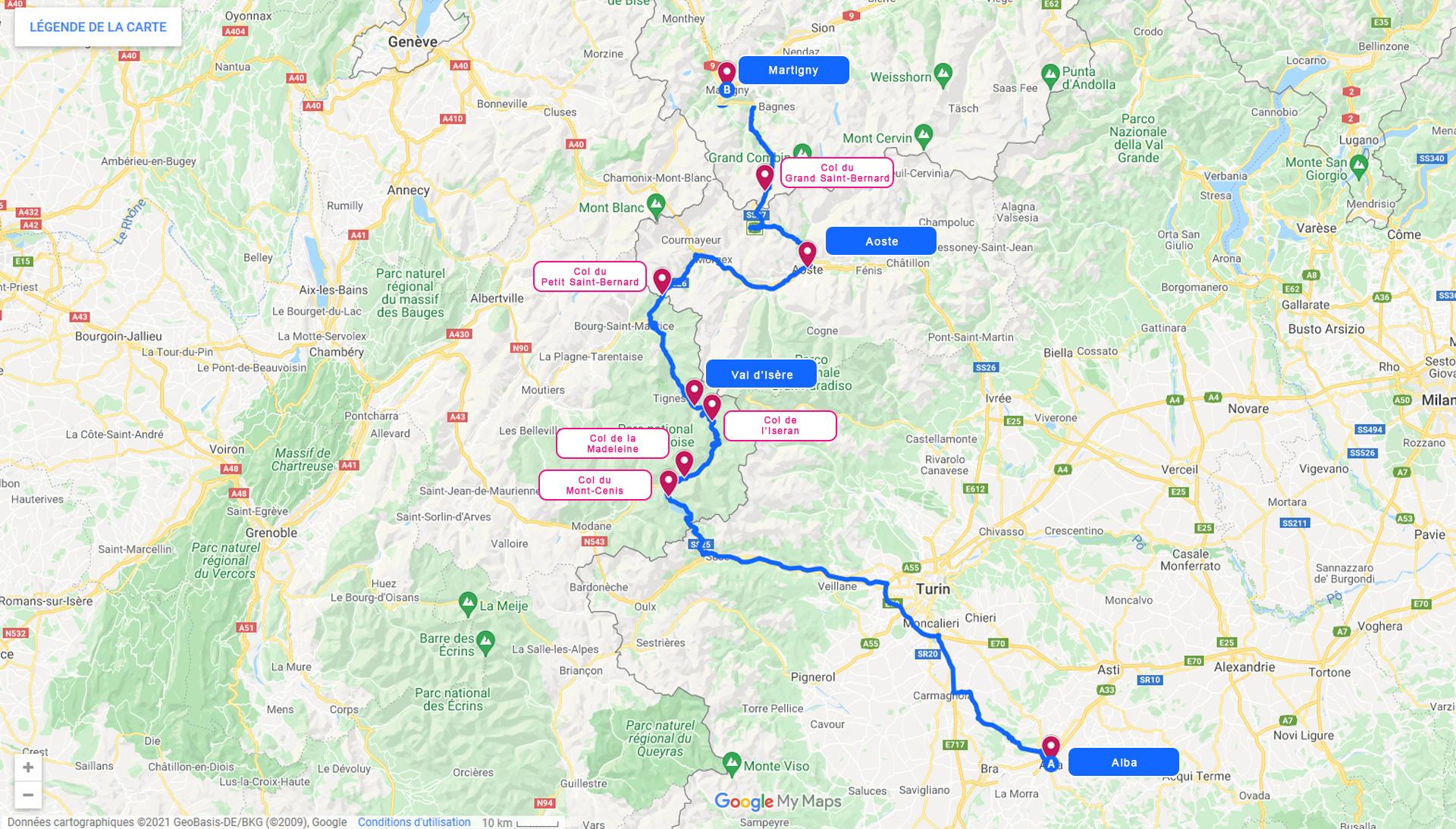 2022, legends alps tour, jour 5