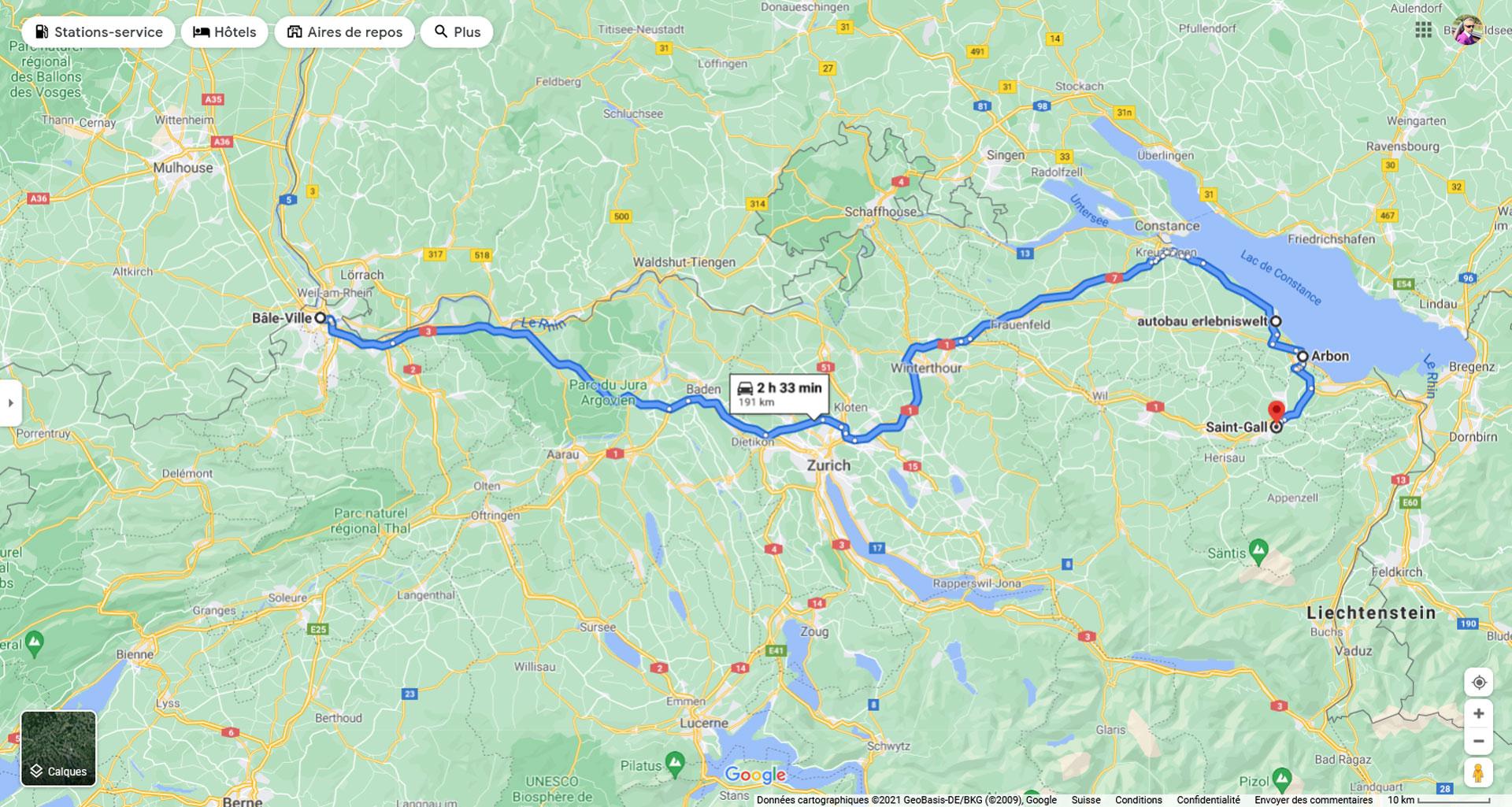 2021, roadtrips, suisse nord-est